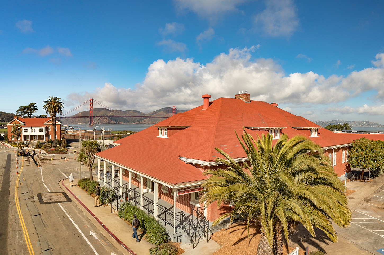 The presidio visitor center opens with av support from - San francisco tourist information office ...